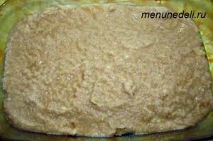 Картофель тертый на мелкой терке с мукой и яйцом