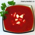 Рецепт борща-пюре