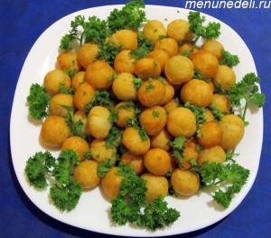 Цибрики из картофеля жареные в масле