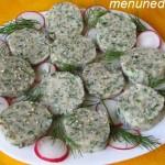 Колбаса из сулугуни и зелени