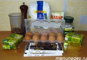 Продукты для торта Добош