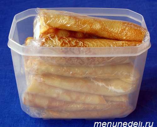 Блюда для заморозки рецепт