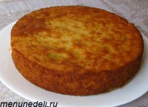 Голландский рисовый торт без украшения