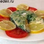 Рецепт рыбы, запеченной под соусом