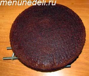 Готовый корж для приготовления торта Бочка с икрой