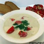 Баклажановый суп-пюре, рецепт с фото