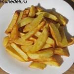 Жареннная картошка