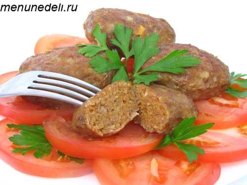 Колбаски по-слуцки - готовим и замораживаем впрок