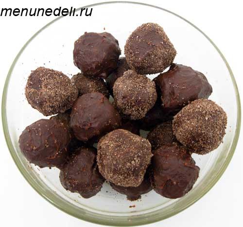 Шоколадные трюфели конфеты которые можно приготовить дома