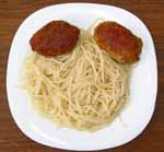 Колбаски по слуцки с макаронами