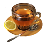 Продукты-заменители бытовой химии - чай с лимоном