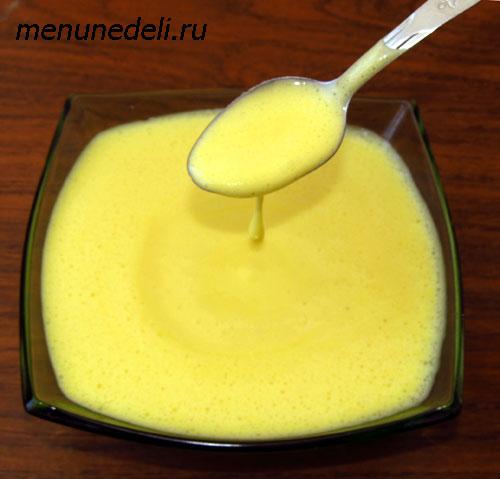 Как приготовить голландский соус