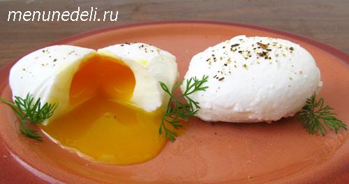 яйца пашот рецепт с фото