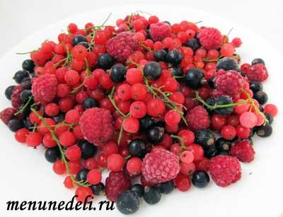 Замороженные ягоды для компота на зиму в домашних условиях