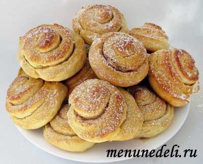 Рецепт сахарных плюшек с пошаговыми фото