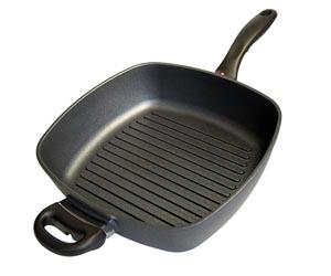 Сковорода гриль для жарки рыба мяса овощей