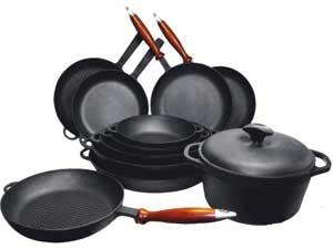 чугунная посуда всех размеров и форм