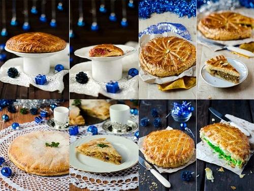 Сладкий стол для дня рождения в офисе французский королевский пирог с разными начинками