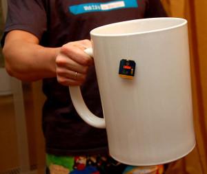 Очень большая кружка для чая