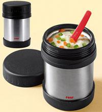 Термос для супа с широким горлом в котором удобно носить первые блюда