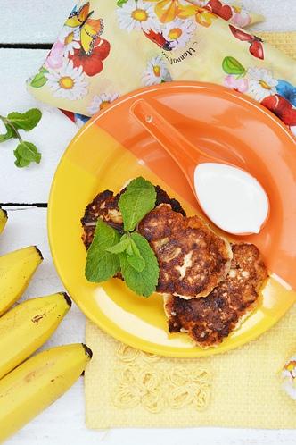 Банановые сырники с овсянкой самый любимый завтрак