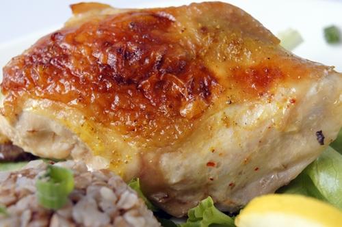 Курица в духовке «Карамельная курочка»
