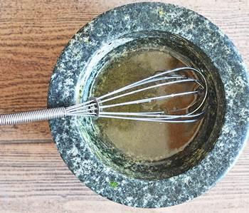 Заправка для салата с сельдью
