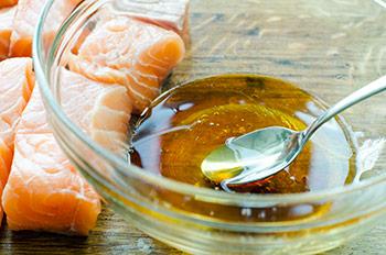 Мед для приготовление шашлыков из семги