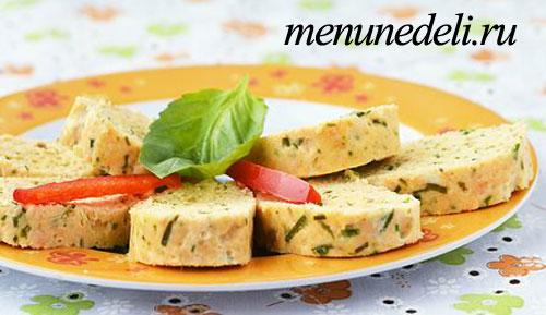 Нежные колбаски из семги