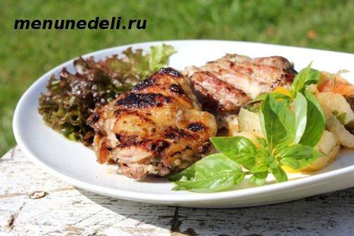 Как приготовить шашлык из курицы со специями