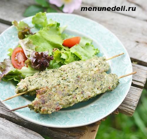 Рецепт приготовления люля кебаб из курицы