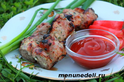 Рецепт вкусного шашлыка из свинины