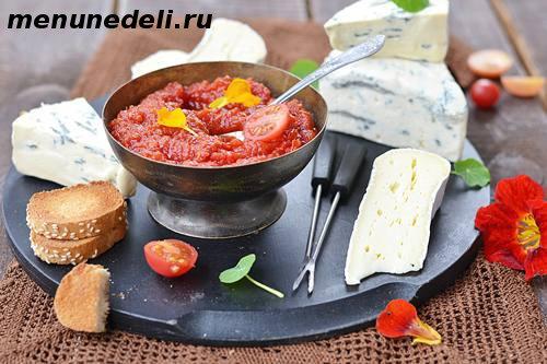 Рецепт соуса чатни из помидоров