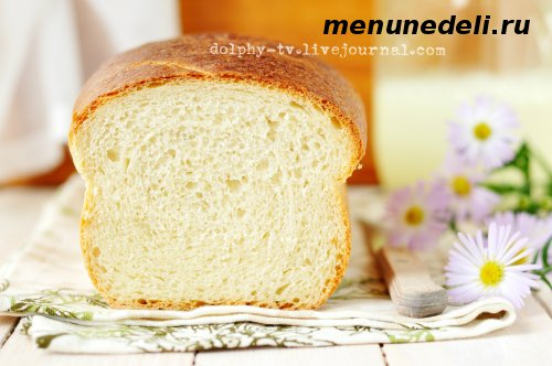 Рецепт хлеба на кислом молоке приготовленный в духовке в домашних условиях