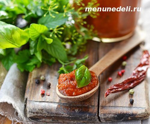 Рецепт кетчупа в домашних условиях