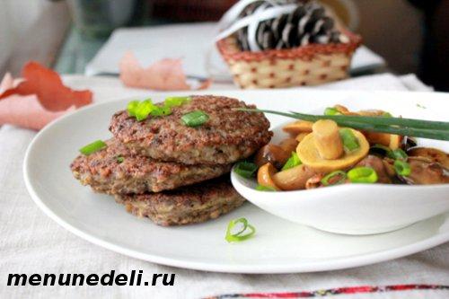Как приготовить оладьи из печени и гречки
