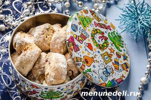 Рождественское печенье из творога
