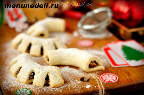 Рождественское сицилийское печенье Куддуредди