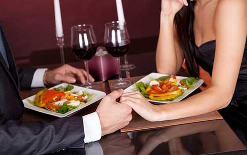 Меню для романтического ужина дома