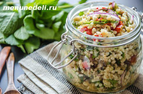 Как приготовить булгур с овощами