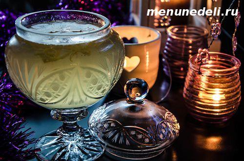 Алкогольный пунш с лимоном