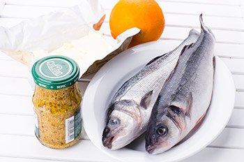 Ингредиенты для рыбных рулетиков запеченных в соусе