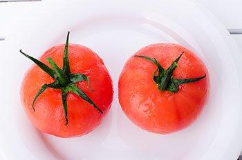 Помидоры без оболочки для приготовления постного блюда