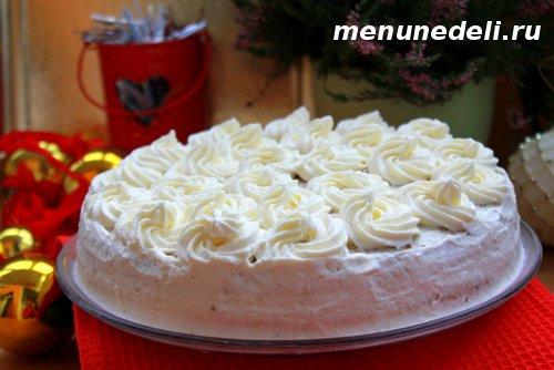 Рецепт морковного торта с ананасами