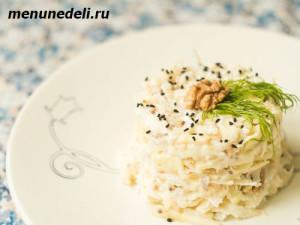 salat-iz-kornevogo-sel'dereja-i-jabloka