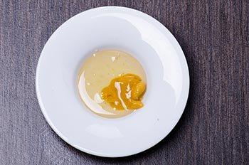 Горчица с медом для смазывания утки