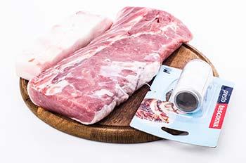 Биточная часть свинины сало кулинарная нить