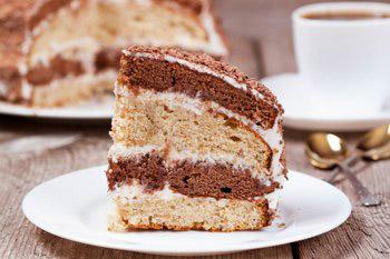 Украсить торт по своему желанию например посыпать тертым шоколадом