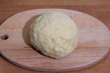 Крутое тесто для приготовления хвороста