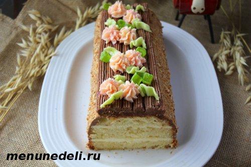 Торт Сказка с масляным кремом